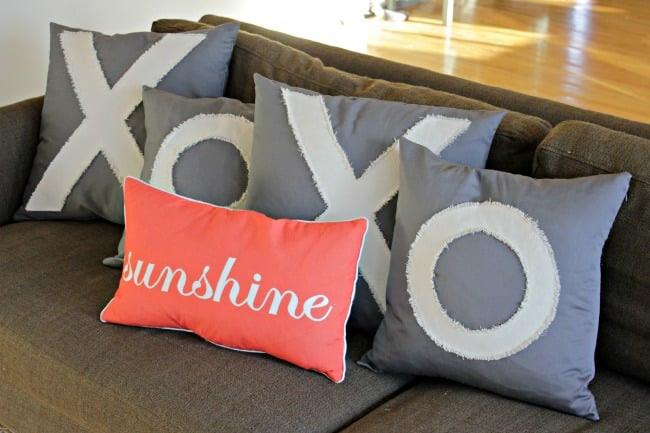 Anthropologie Inspired Love Pillows