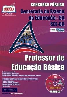 Secretaria de Estado da Educação / BA-PROFESSOR DE EDUCAÇÃO BÁSICA