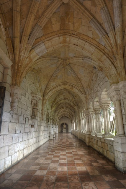 St. Bernard de Clairvaux Cloisters back hall