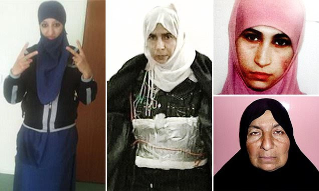 Female suicide bomber in Paris one of many in history before ISIS