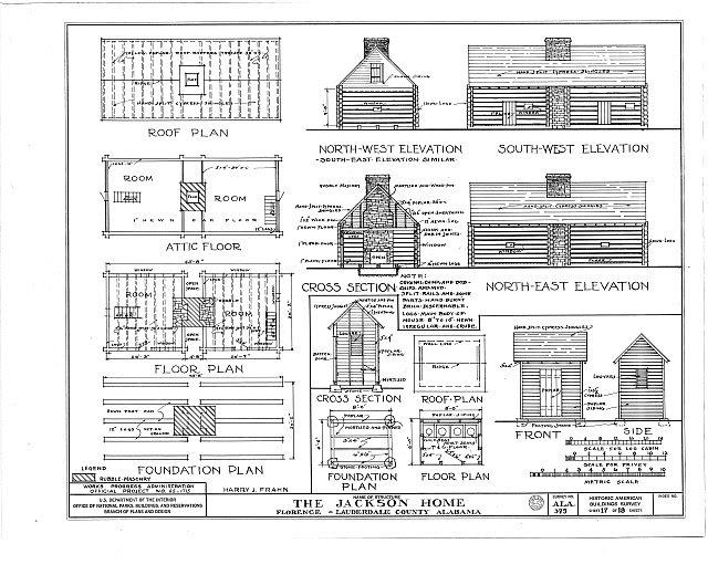 HABS ALA,39-FLO.V,3- (sheet 17 of 18) - Forks of Cypress, Savannah Road (Jackson Road), Florence, Lauderdale County, AL