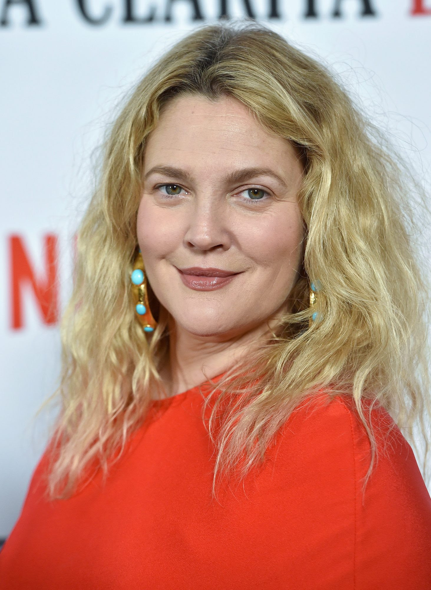 Image result for Drew Barrymore Swears By This 'Amazing' Lightweight Sunscreen That Doesn't Cause Breakouts