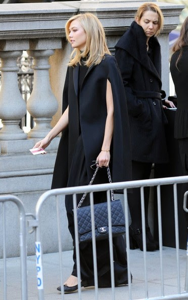 Karlie Kloss - Funeral Held for Oscar De La Renta