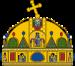 Crown of Saint Stephen.svg