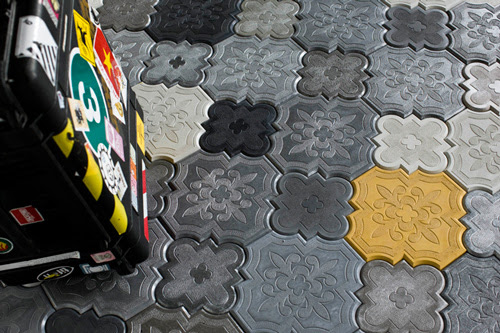 Decorative Concrete Tiles by Ivanka