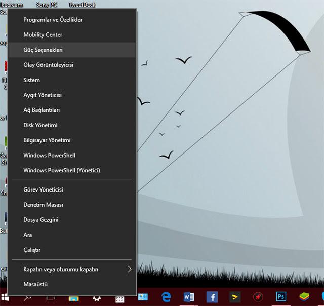 Windows 10 nasıl hızlı açılır?