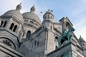 Stock Photos: Beautiful Sacre Coeur In Paris Picture. Image: 68503