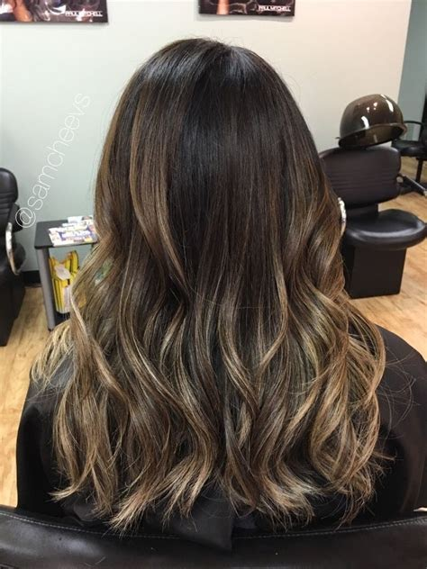 Chocolate Brown Hair With Highlights And Lowlights