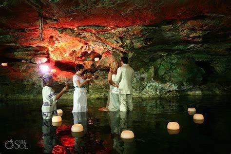 Riviera Maya Cenote Cosmic Wedding   Brandi and Kris