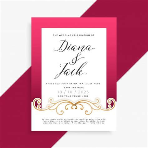 Invitation Vectors, Photos and PSD files   Free Download