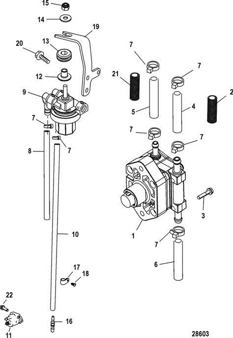 Mercury Marine 30 HP EFI (3 Cylinder) (4-Stroke) Fuel Pump