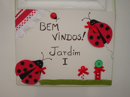 Plaquinhas para porta! by Menina Prendada -