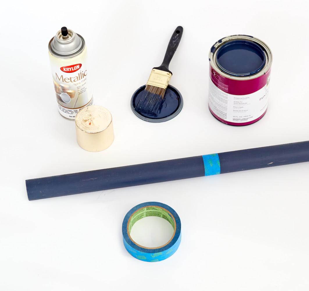 DIY Redbook_Coatrack_ Emily Henderson mediados de siglo Modern_painting