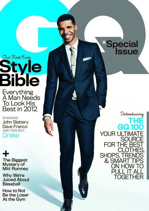 GQ - April 2012, Drake