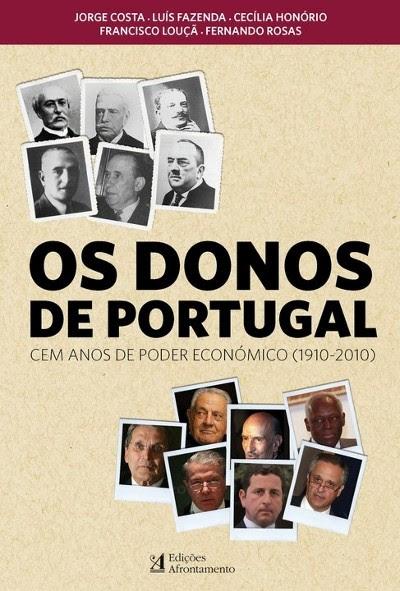 """O livro """"Os donos de Portugal"""" foi lançado esta quinta feira em Coimbra"""