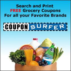 Print free grocery coupons at CouponSurfer.com
