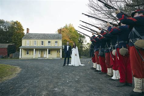 The Barn At Old Bethpage Village Restoration Wedding
