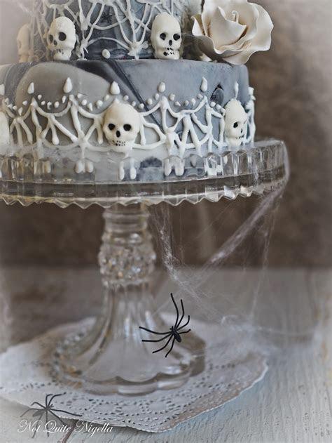 Halloween Marble Cake @ Not Quite Nigella