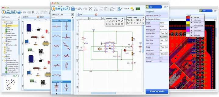 Web Based Free EDA Tool
