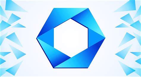 polygon logo design  corel draw  logo design ideas
