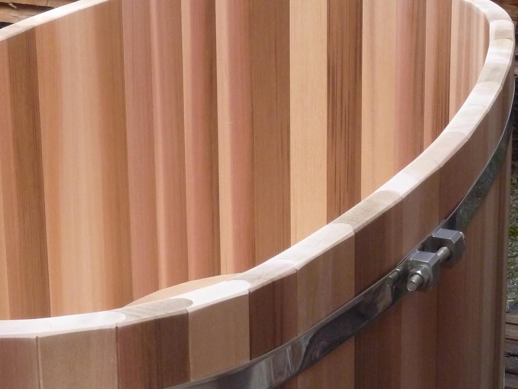 Baignoire Bois Massif Red Cedar Pour 2 Personnes Fabriquee En France