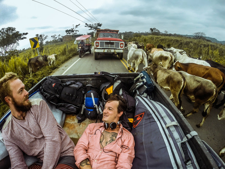Johannes Riffelmacher and Thomas Kosikowski: surfing and eating in Latin America