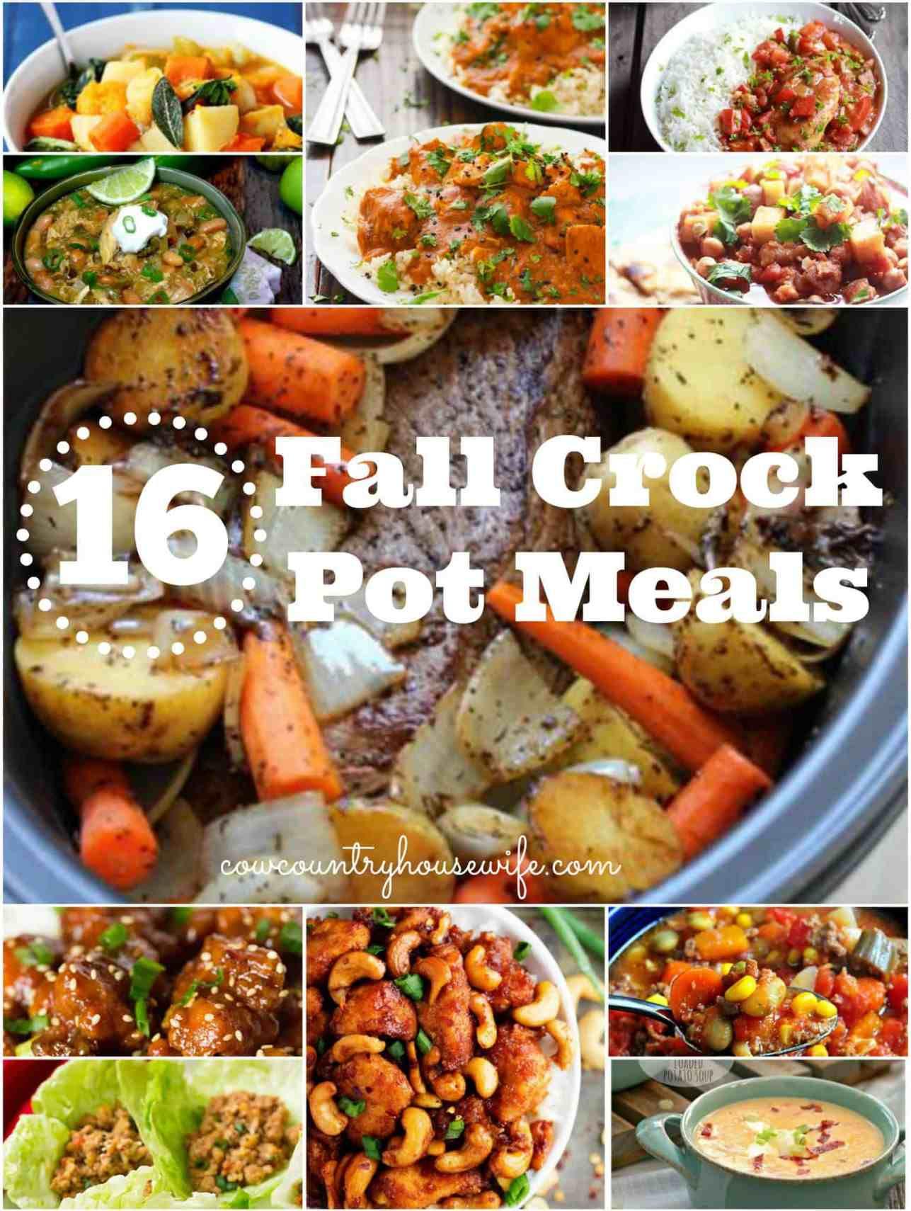 16 Fall Crockpot Meals