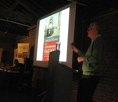 Christian Wolmar - How the Tube created London - Westminster Society Talk