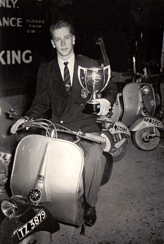 Artie Bell Cup - Ulster Vespa Club Rally 1956 by GaelicKiwi