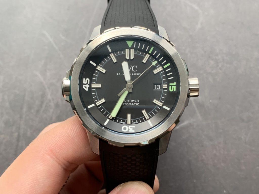 IWC Aquatimer 2000 Black Dial