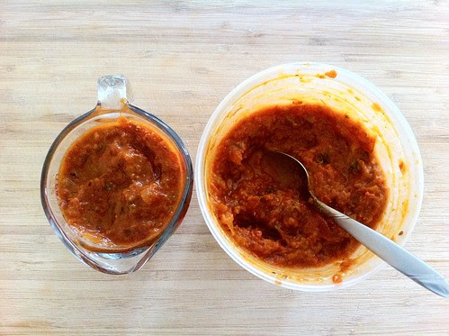 1 Cup Homemade Marinara Sauce