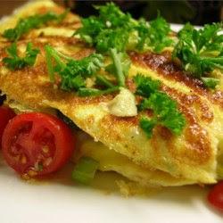 Yummy Veggie Omelet Recipe