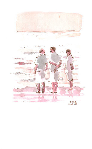 Men in the Beach