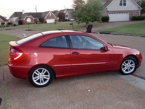 Sell used 2002 Mercedes-Benz C230 Kompressor Coupe 2-Door ...