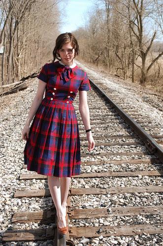 At the Train Tracks