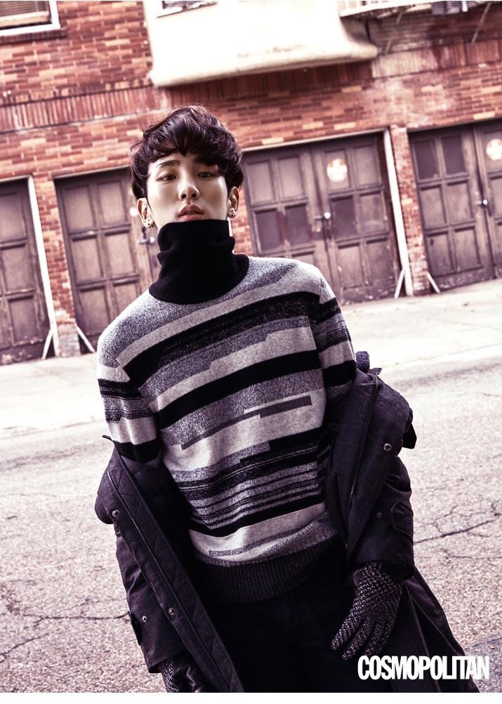 SHINee'sKey for Cosmopolitan Korea November 2015. Photographed by Kim Oi Mil