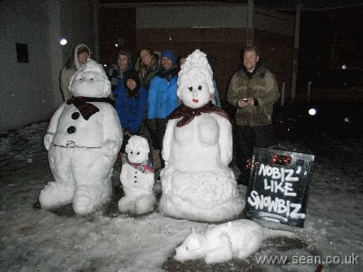 The snow family plus its creators