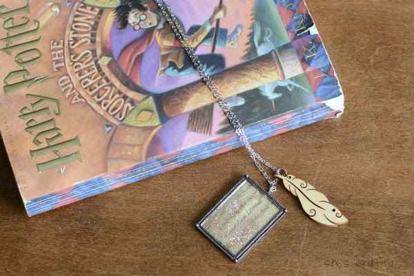 Harry Potter Feather Necklace