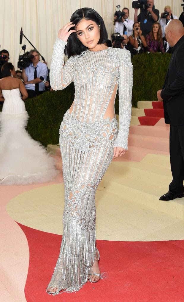 kylie jenner celebrity dresses met gala 2016 red carpet