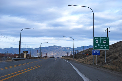 US 97 @ SR 20 westward