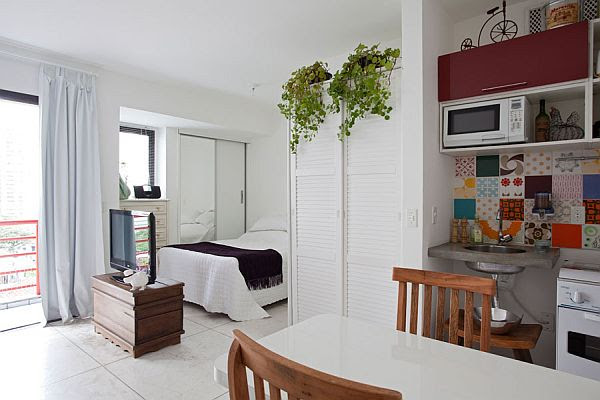 Tiny but cozy apartment in Moema