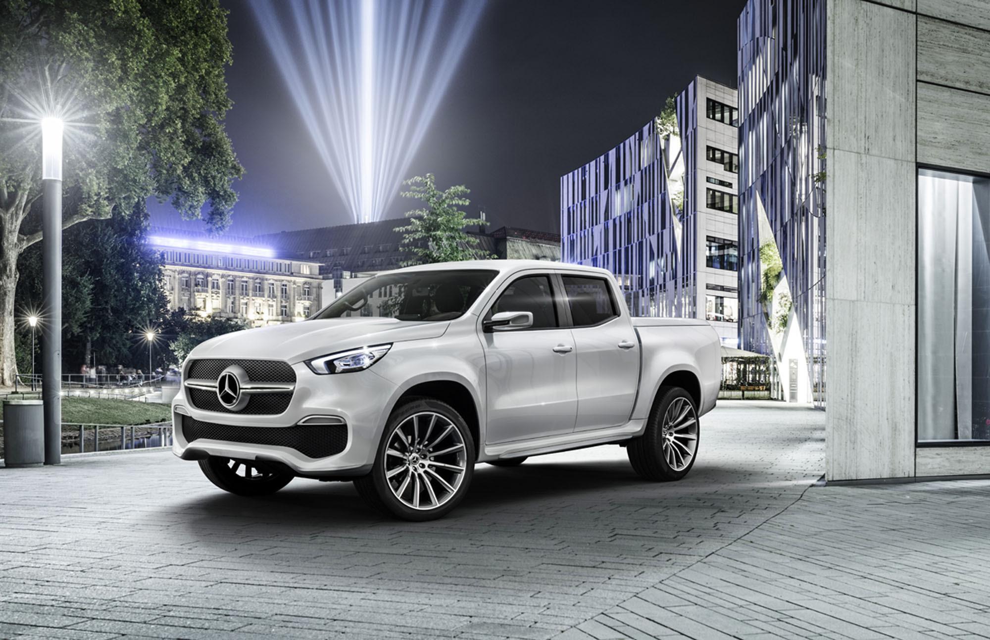 Mercedes-Benz unveils its first pick-up truck