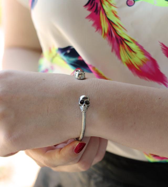 Persunmall Skull Bracelet