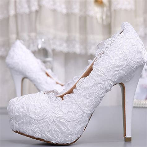 Find More Women's Pumps Information about Fashion White