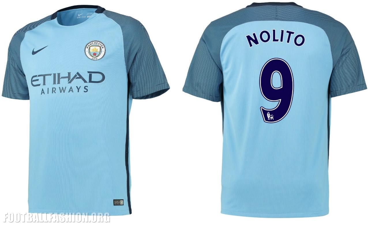Manchester City 2016/17 Nike Home Kit | FOOTBALL FASHION.ORG