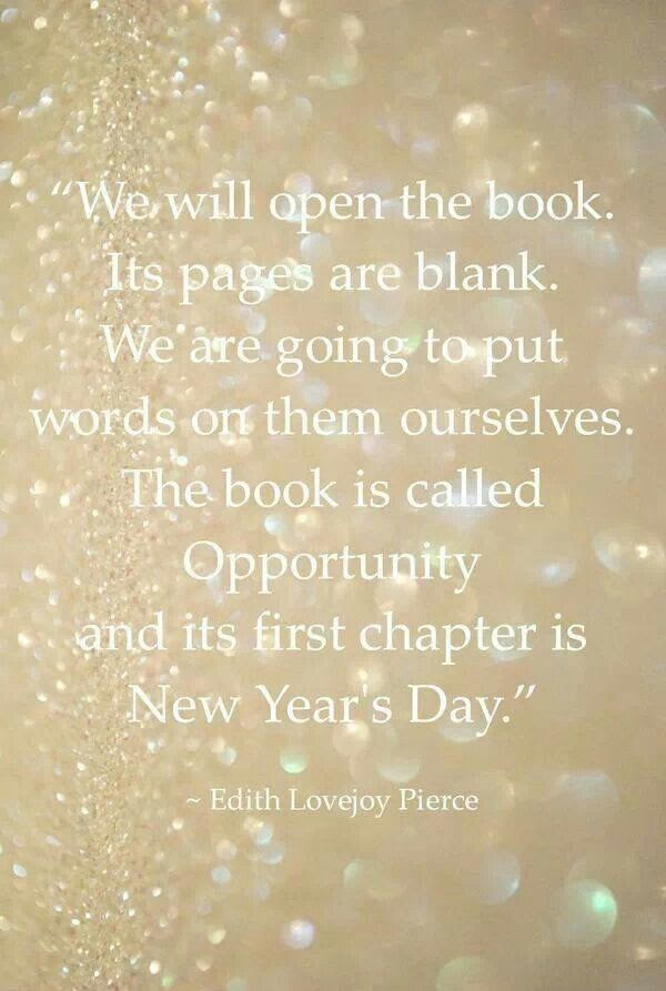 Happy New Year New Chapter Quotes Sca2016