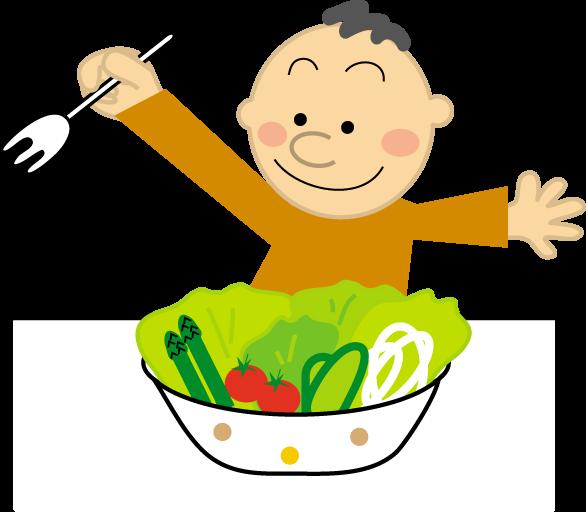 食事のイラスト健康医療無料イラストフリー素材