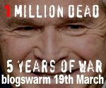 Join the March 19 Blogswarm Against the Iraq War