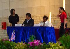MoU signing between BookCrossing.com & NLB