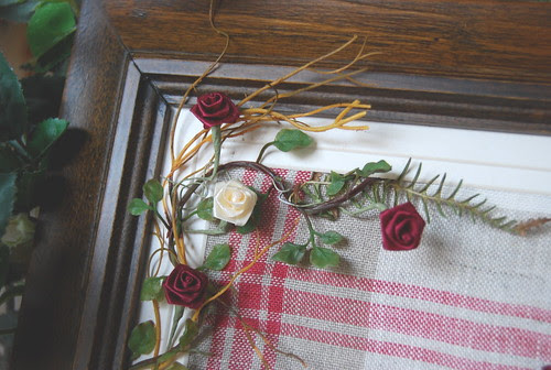 La puerta de las flores detalle  del marco